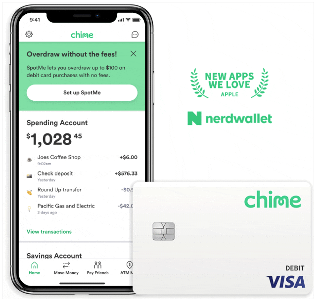 chime online banking