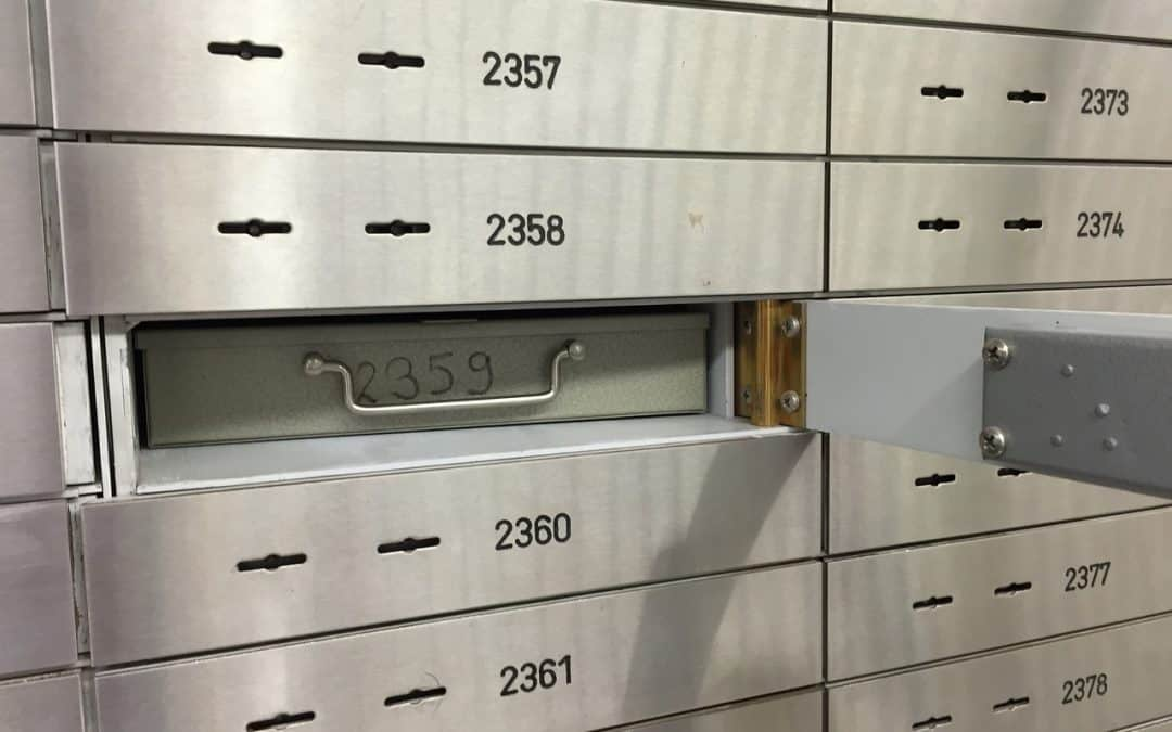 Bank Safe Deposit Box