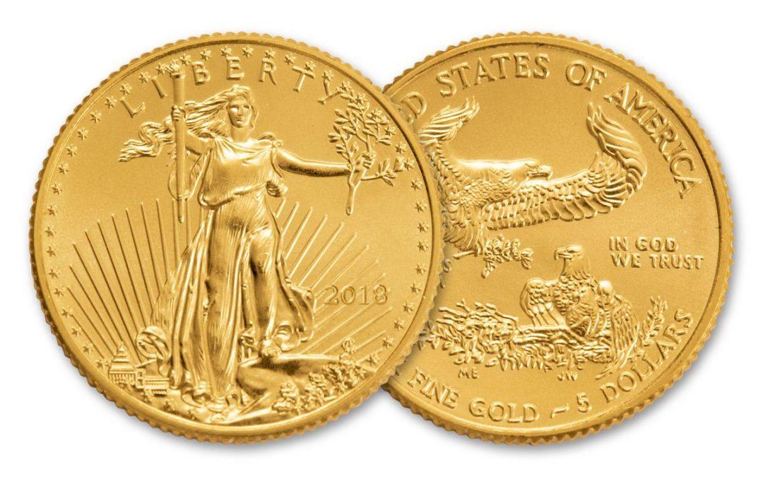 Five Dollar Liberty Gold Coin