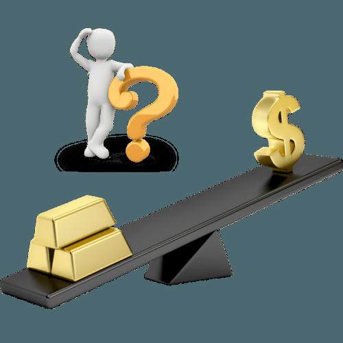 gold vs stock